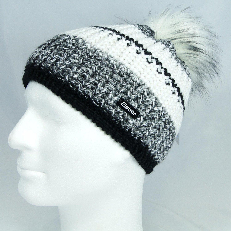 Eisbär Damen Mütze Kuno Lux