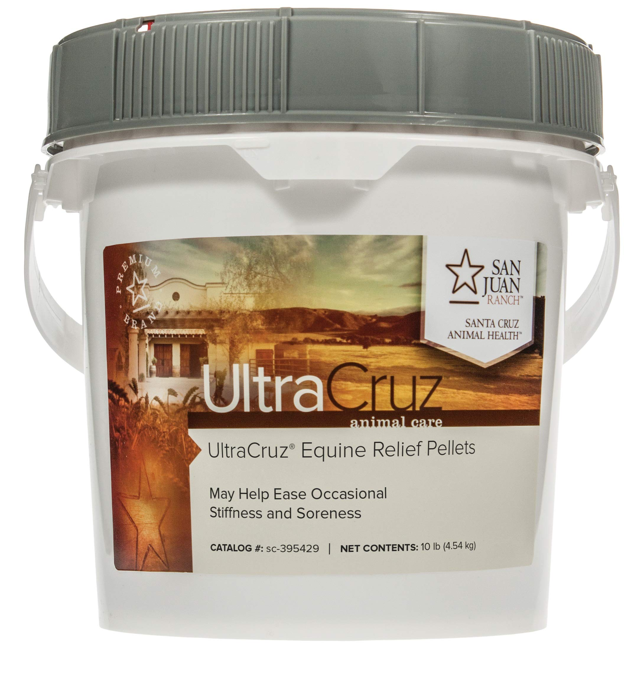 UltraCruz Equine Relief Supplement for Horses, 10 lb, Pellet (160 Day Supply) by UltraCruz
