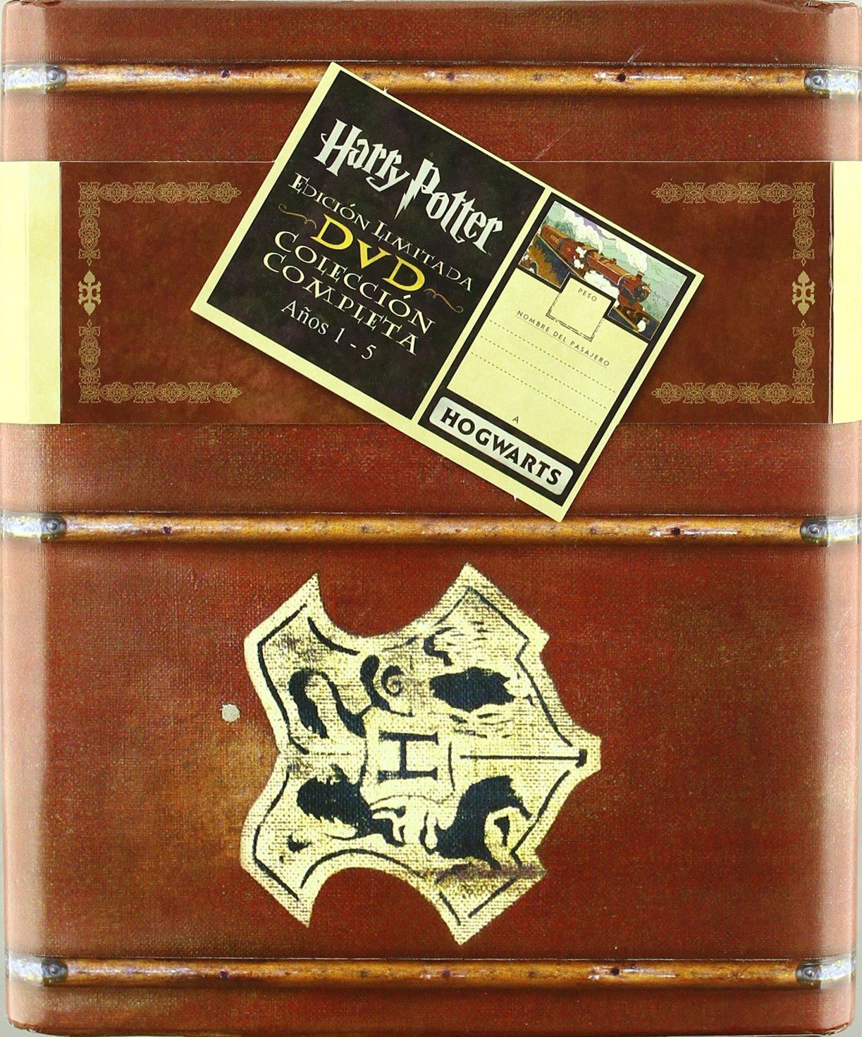Harry Potter - Edición Limitada Coleccion completa Años 1 - 5 DVD: Amazon.es: Daniel Radcliffe, Harry Melling, Richard Harris, Fiona Shaw, Rupert Grint, Emma Watson, Varios, Chris Columbus, David Yates, Alfonso Cuaron,