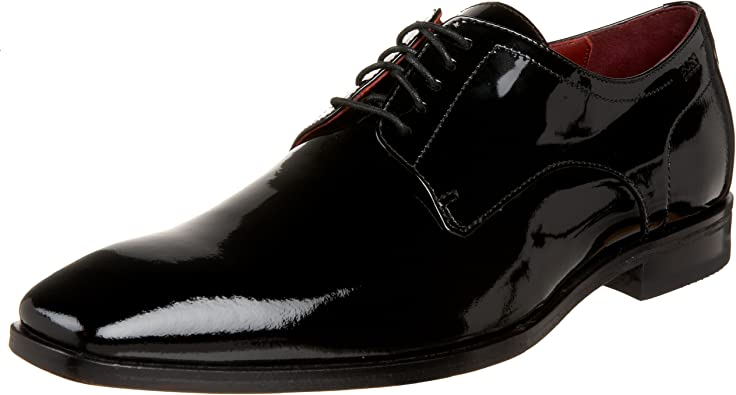 Recco Lux Patent Formal Lace Up