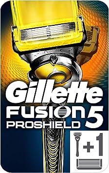 Gillette Fusion ProShield Maquinilla de Afeitar Con FlexBall: Amazon.es: Salud y cuidado personal