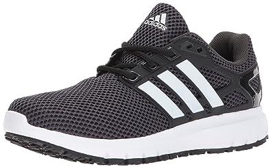 adidas shoes black and white. adidas performance men\u0027s energy cloud m running shoe, black/white/utility black, shoes black and white