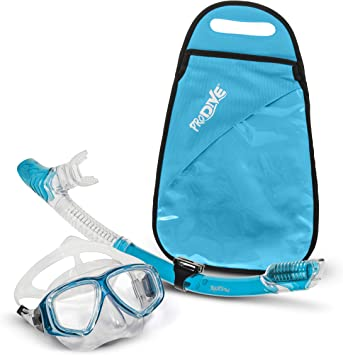 Amazon.com: PRODIVE Premium Dry Top Snorkel Set – Máscara de ...