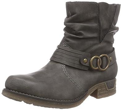 Rieker 79699, Women's Ankle Boots, Grey (Basalt/45), 3.5 UK