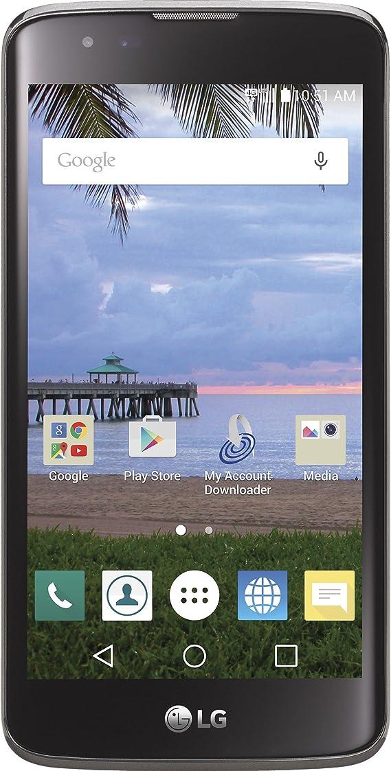 Amazon Com Tracfone Lg Treasure 4g Lte Cdma Prepaid Smartphone