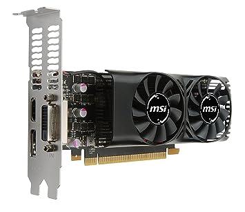 MSI V809-2404R GeForce GTX 1050 Ti 4GB GDDR5 - Tarjeta gráfica ...