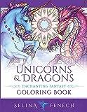 Unicorns and Dragons - Enchanting Fantasy Coloring Book: 17