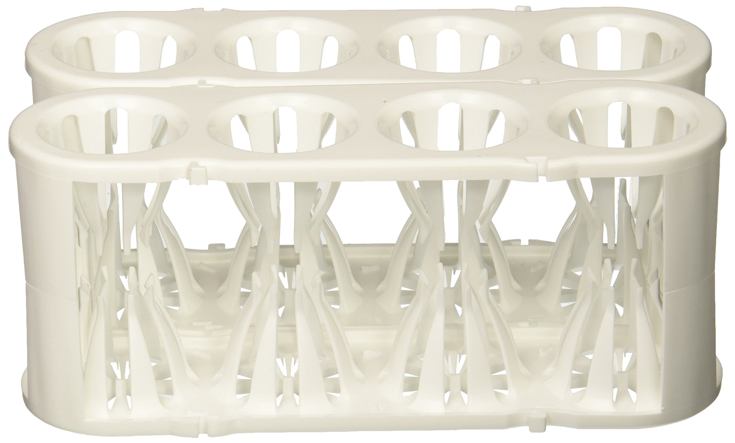 Heathrow HS120188 Adapt-A-Rack, White (Pack of 2) by Heathrow Scienitific