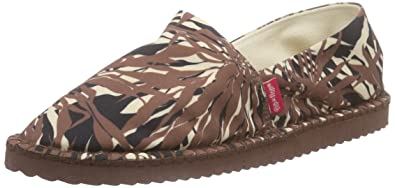 flip flop flippadrilla Seaweed, Damen Espadrilles, Braun (806), 37 EU