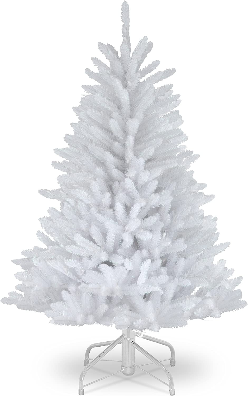 National Tree Company Artificial Christmas Tree Includes Stand Dunhill White Fir 4 5 Ft Home Kitchen