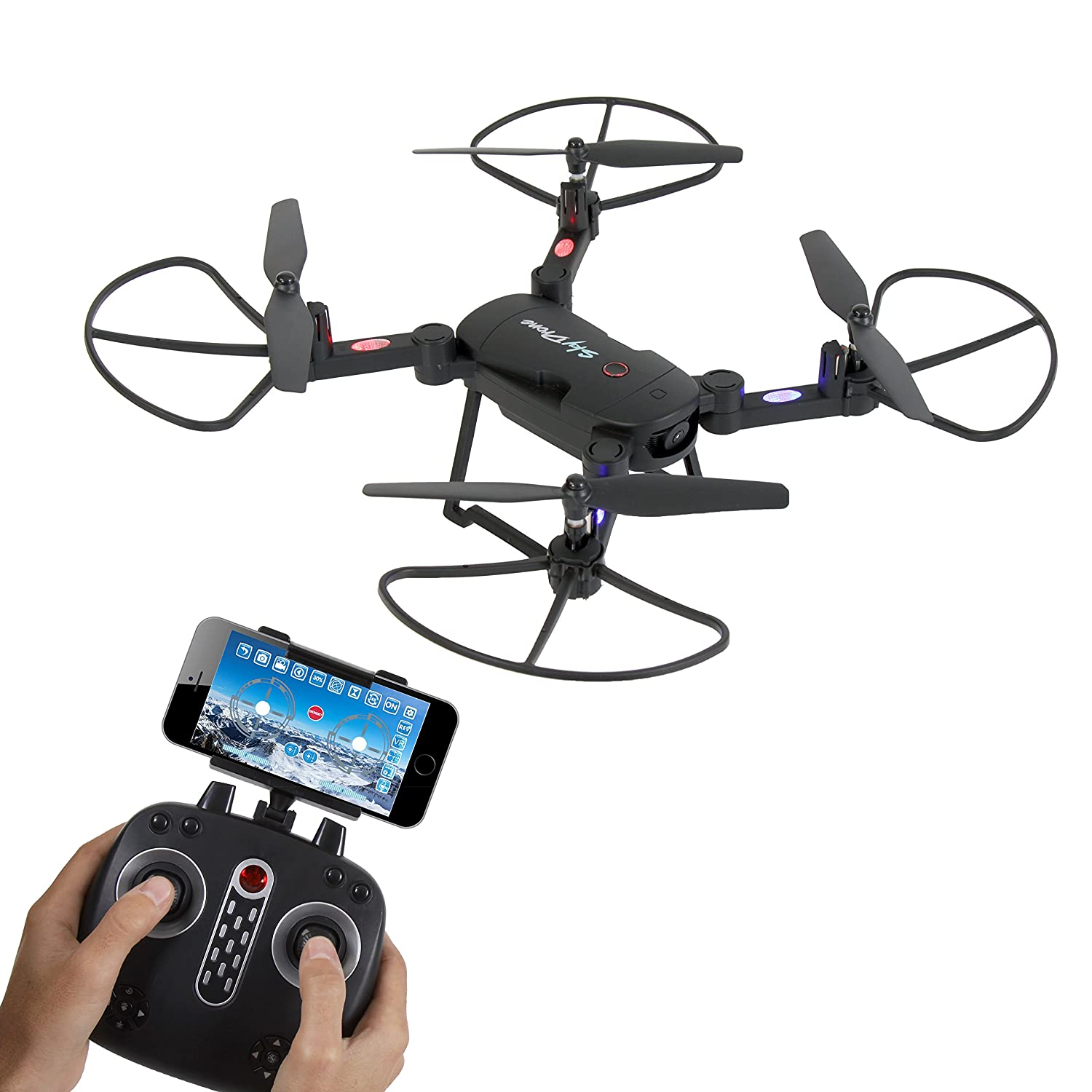 SereneLife SLRD18 Wifi FPV Foldable Drone