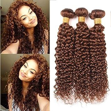 Amazon Com Black Rose Hair Virgin Brazilian Curly Hair Weave 3
