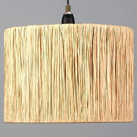 Stylish natural ruffle effect raffia drum ceiling light pendant stylish natural ruffle effect raffia drum ceiling light pendant lamp shade 25 cm mozeypictures Gallery