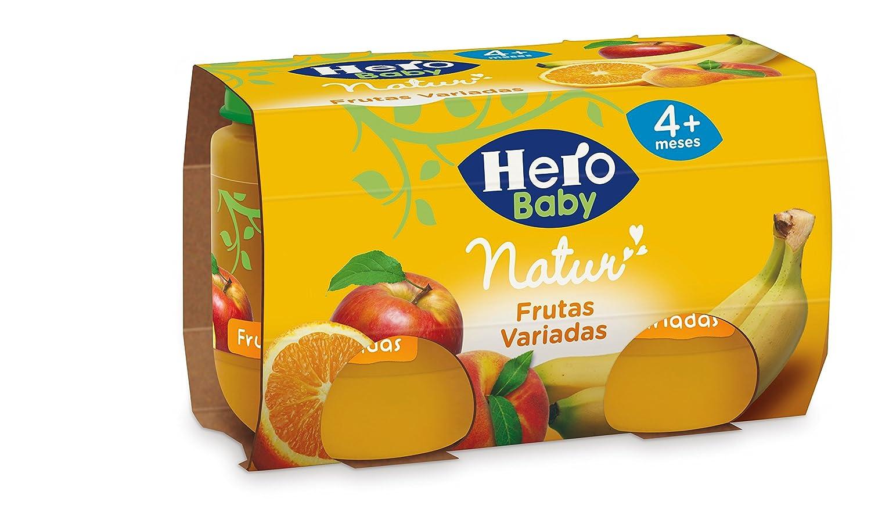 1aaa689bc196ff Hero Baby - Natur Frutas Variadas 4 Meses. Sin gluten