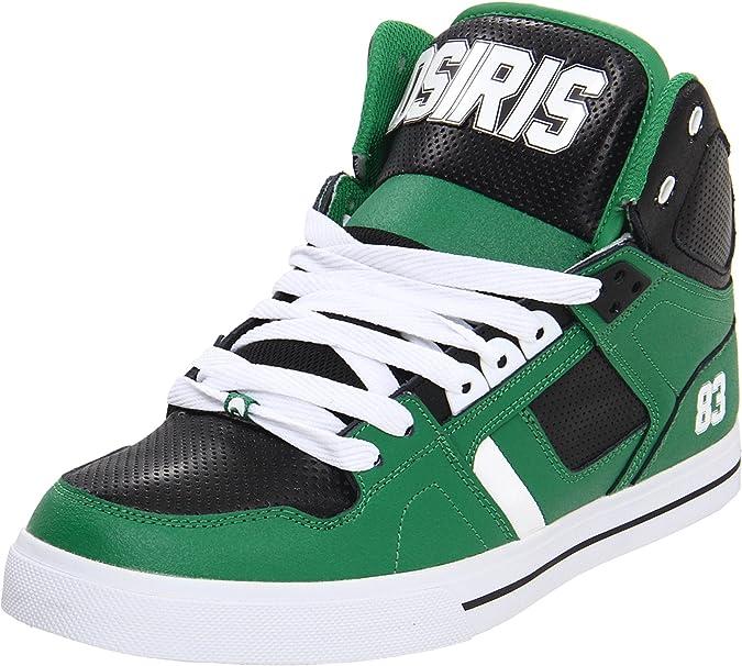 Zapatillas Osiris modelo NYC 83 Josh Grant con suela vulcanizada, color Verde, talla 47 EU (13 UK): Amazon.es: Zapatos y complementos