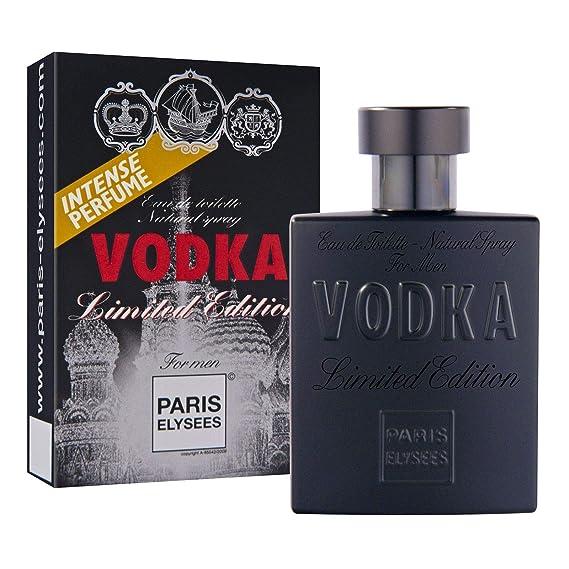 617e89ccf9 VODKA Limited Edition Perfume para hombre Paris Elysees 100 ml vaporizador  Fresco - Aromático  Amazon.es  Belleza
