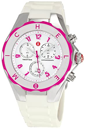 e2a5ba62da39c Image Unavailable. Image not available for. Color  Michele Women s  MWW12F000024 Tahitian Jelly Bean Large Chronograph Watch