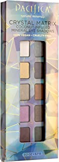 product image for Pacifica Beauty 10 Well Eye Shadow, Crystal Matrix, 0.2 Ounce