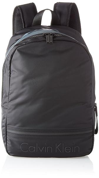 7ae2da167b10f1 Calvin Klein Matthew 2.0 Backpack - Zaini Uomo, Nero (Black), 16x41x30 cm  (B x H T): Amazon.it: Scarpe e borse