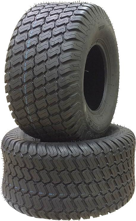 Amazon.com: 2 ruedas giratorias para cortacésped de 18 x 9 ...