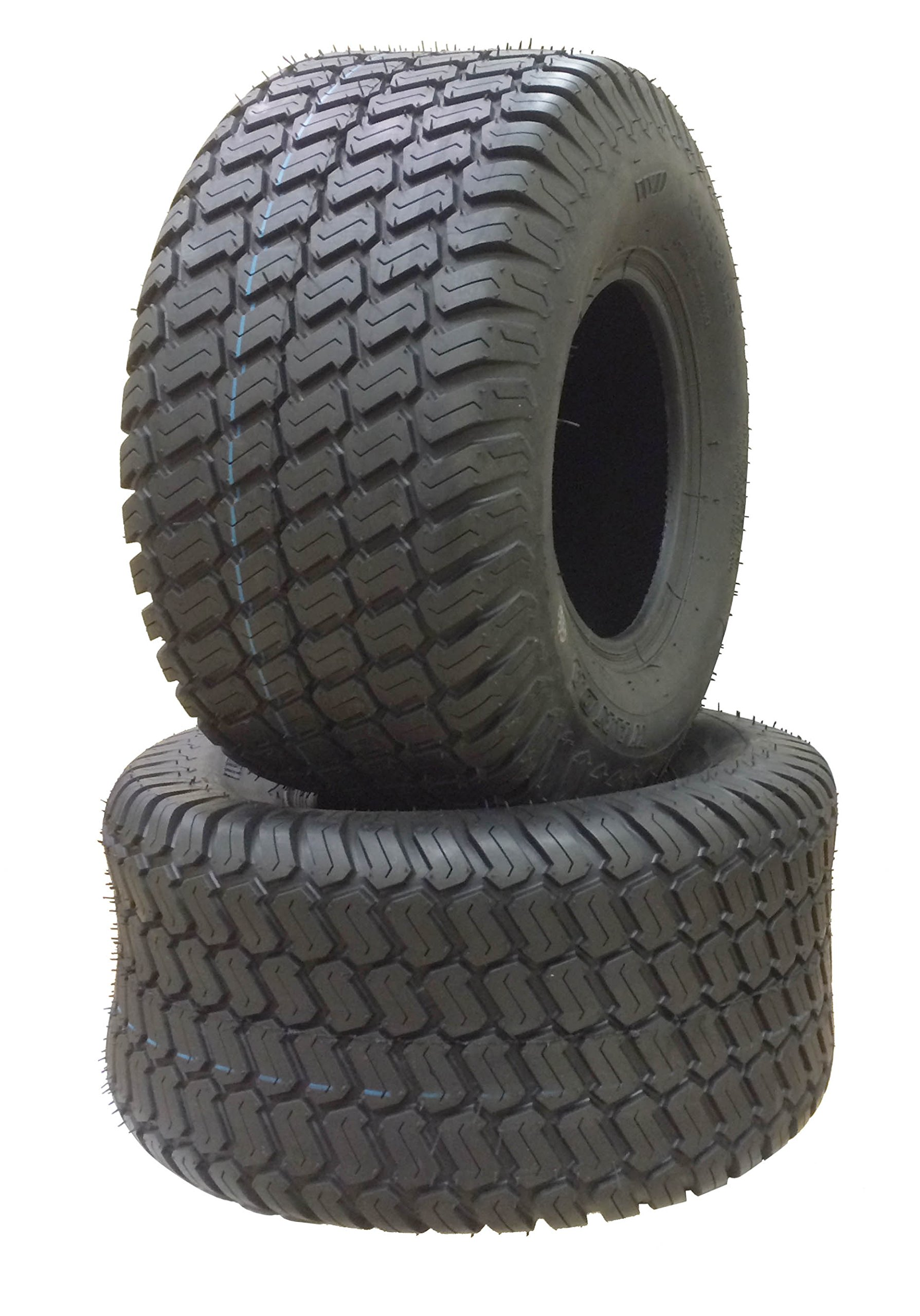 2 New 18x9.50-8 Lawn Mower Utility Cart Turf Tires P332 -13032 by Wanda