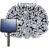 200 LED Solar String Lights, Litom Outdoor Solar Decor Powered Lights with 72 ft Super Long String and 8 Working Modes