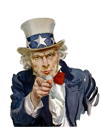 amazon com home comforts laminated poster uncle sam wants you
