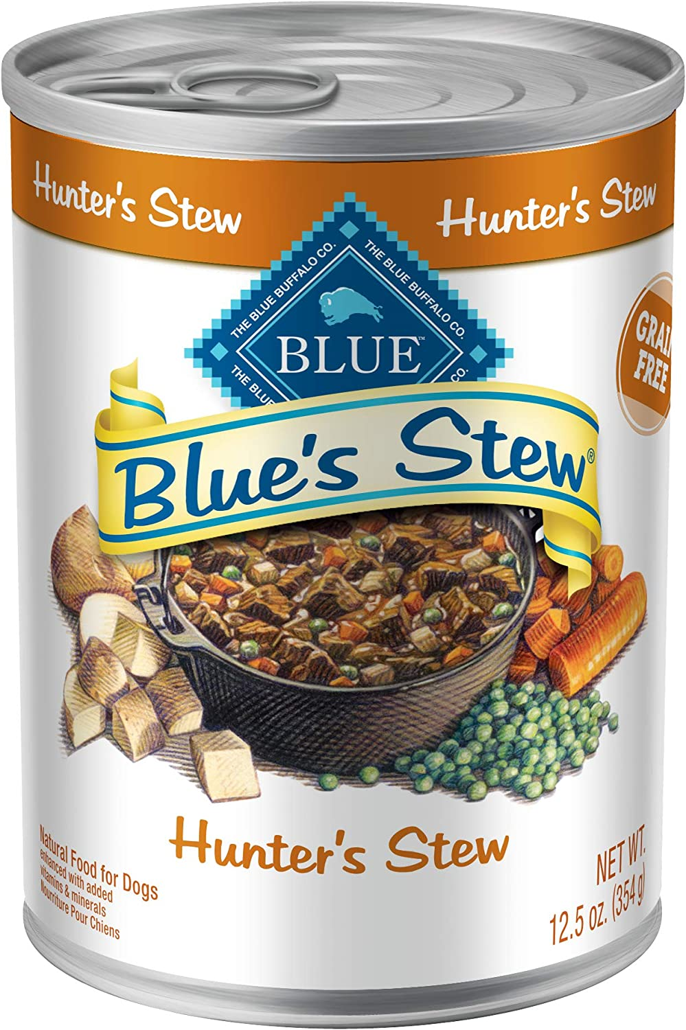 Blue Buffalo Blue'S Stew Wet Dog Food, Hunter's Stew