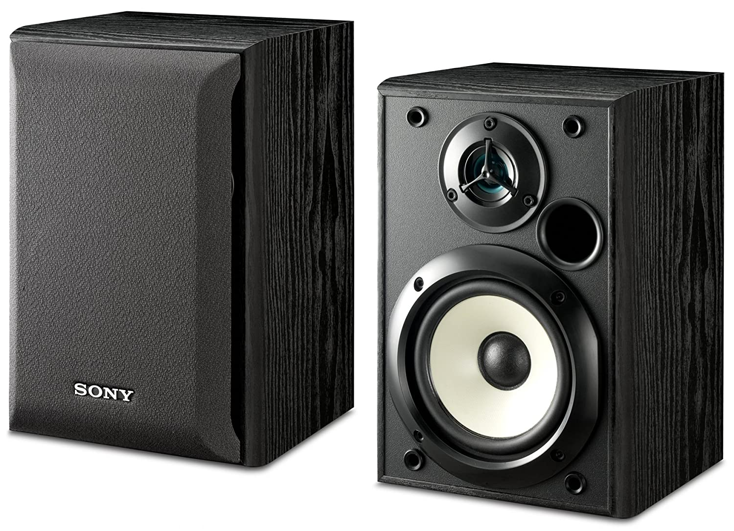 Sony Ss B1000 5 1 4 Inch Bookshelf Speakers Pair Home Stereo System Wiring Diagram Ford F 150 Audio Theater