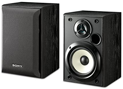 Sony SS B1000 5 1 4 Inch Bookshelf Speakers Pair