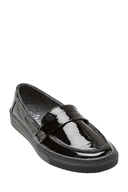 next Niñas Mocasines Charol (Niña Mayor) Estándar Negro EU 41: Amazon.es: Zapatos y complementos