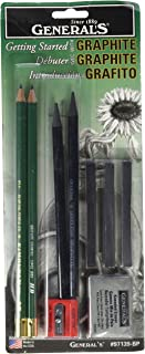 product image for General Pencil 97139-BP Graphite Drawing Essentials Tool Kit