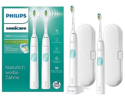 Philips Sonicare hx6807/35 Protect Ive Clean 4300 Cepillo de dientes eléctrico con tecnología de