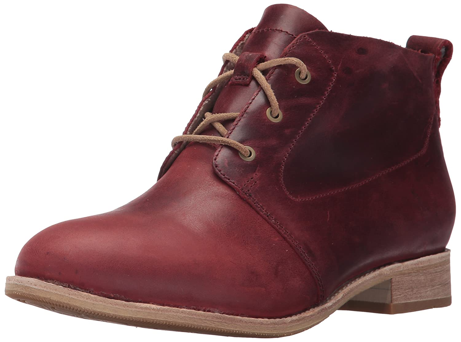 Caterpillar Women's Hester 3 Eyelet Leather Chukka Bootie Ankle Boot B01N7HXIK9 10 B(M) US|Sedona
