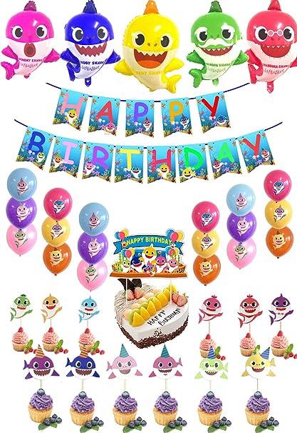 Amazon.com: Juego de suministros para fiestas de cumpleaños ...