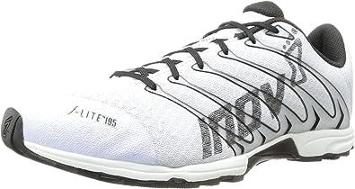 Inov-8 F-Lite 195, Zapatillas de Correr por Carretera. para Hombre, Blanco/Negro, 38 EU: Amazon.es: Zapatos y complementos
