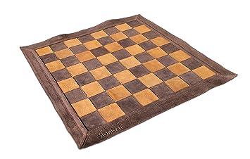 sccacchi Staunton metal Set chessboard Genuine Leather