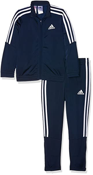 adidas Jungen Tiro Trainingsanzug Top:Collegiate Bottom:Collegiate NavyWhite, 164