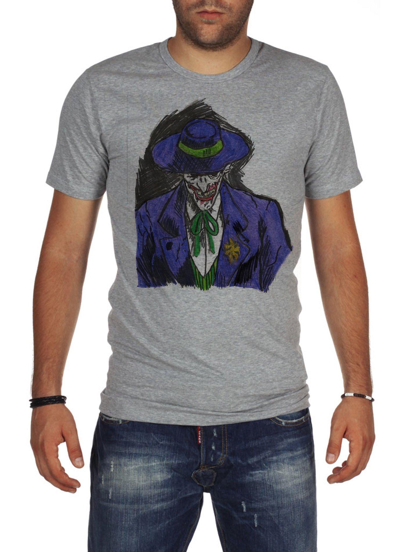 S Fashion Batman The Joker Tshirt