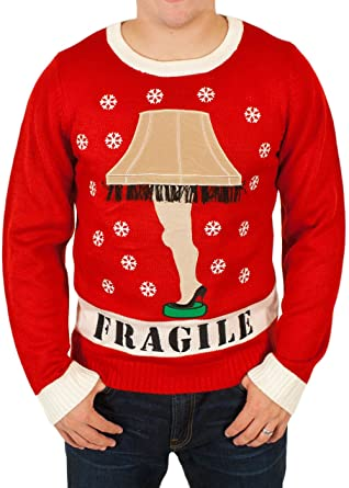 High Quality U0027A Christmas Storyu0027 Lighted Leg Lamp Sweater In Red By Festified (X