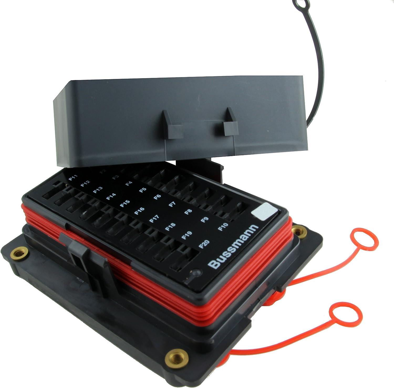 Amazon.com: Bussmann RTMF-SC Fuse Panel: Automotive bussmann fuse relay box Amazon.com