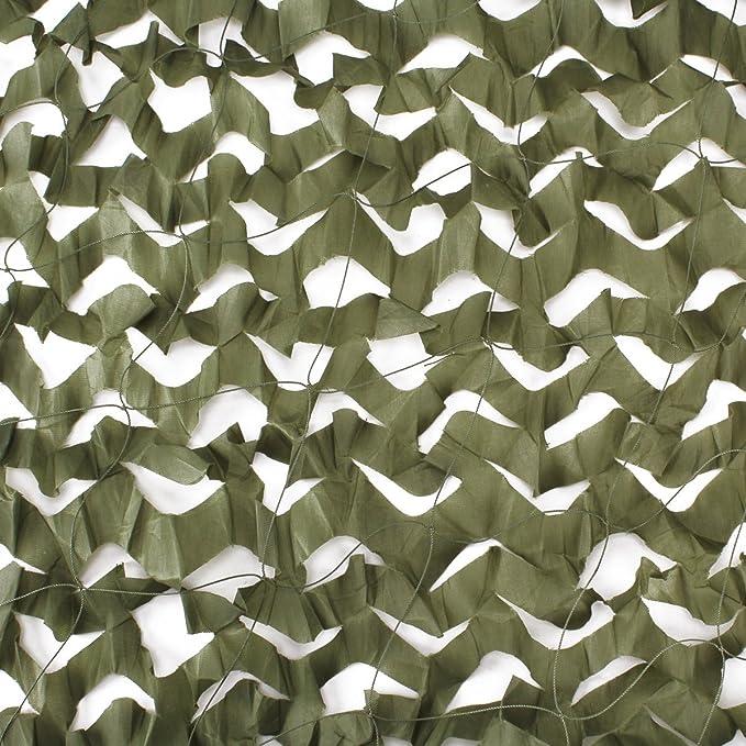 Red de Camuflaje Mallas de Protección Ejército Combate Militar Táctico para Caza Bosque Campo al Aire Libre Balcón Sobrecielo Toldo Ático Ocultar Bicicleta Coche el Sol Sombra Proteger del Viento: Amazon.es: Deportes