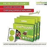 Bodyguard Premium Natural Anti Mosquito Repellent Patches - 60 + 12 Patches