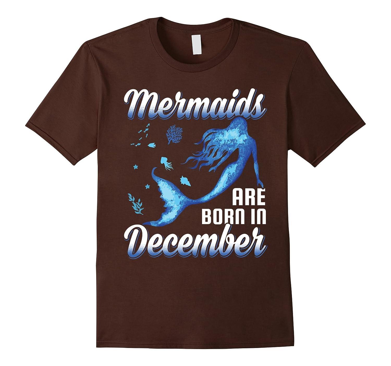 Kids Mermaids December T Shirt Heather-Awarplus