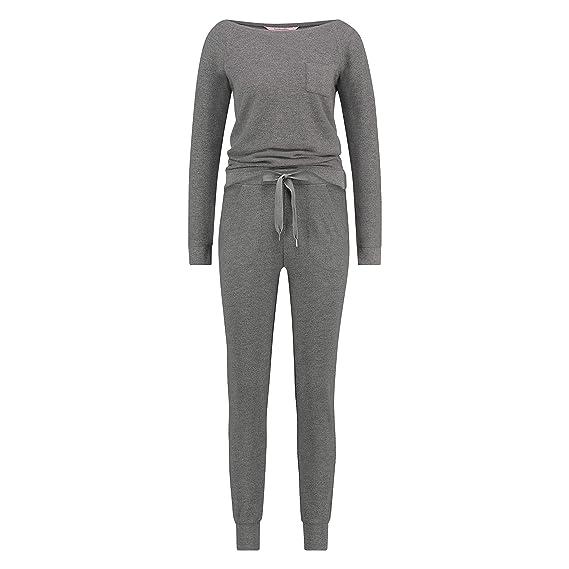 Hunkem/öller Damen Pyjamaset