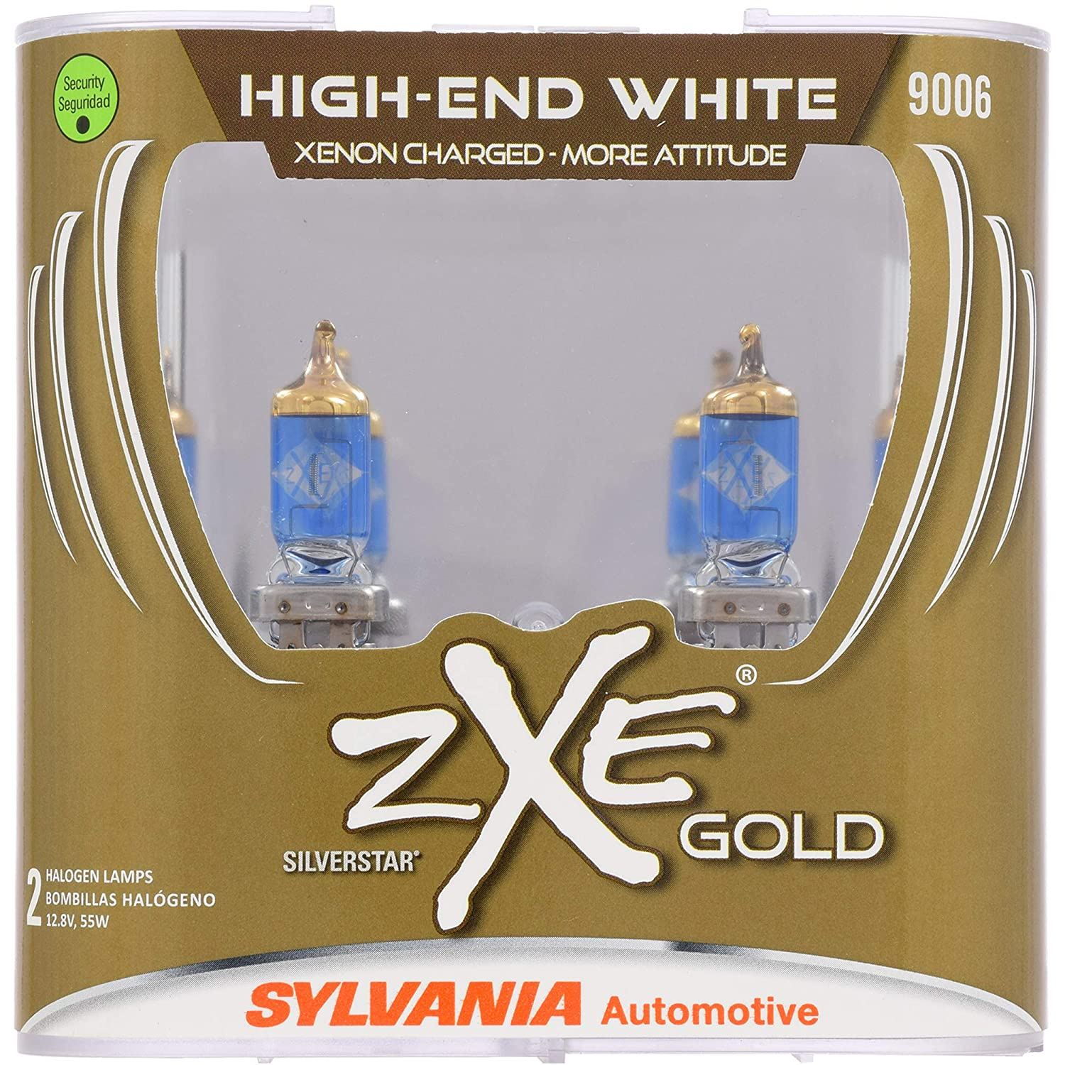 ... Performance Halogen Headlight Bulb - Headlight & Fog Light, Bright White Light Output, Best HID Alternative, Xenon Charged Technology (Contains 2 Bulbs)
