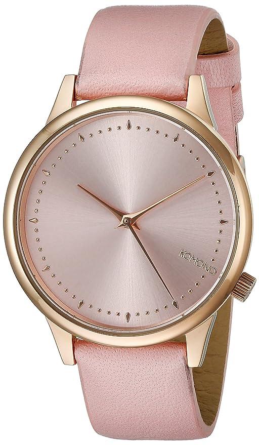 Komono KOM-W2500 - Reloj de pulsera mujer, PU, color Rosa