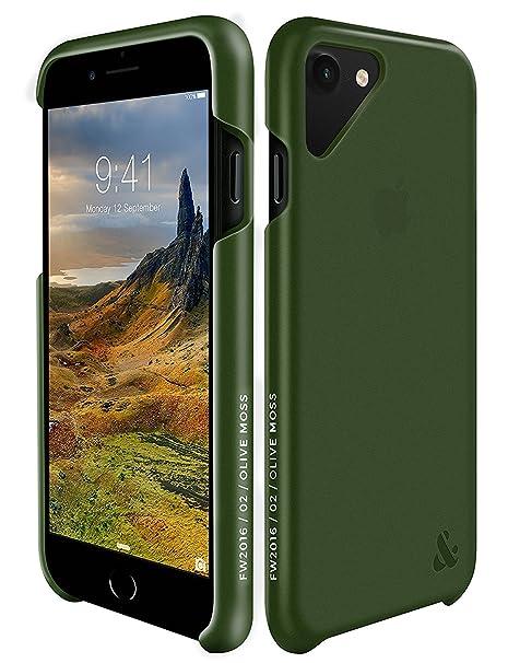 custodia iphone 7 verde olivo