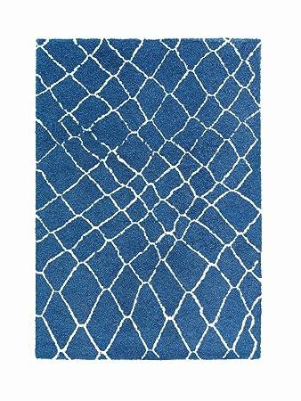 Schöner Wohnen Dream Teppich 80x150 Blau Weiß Amazonde Küche