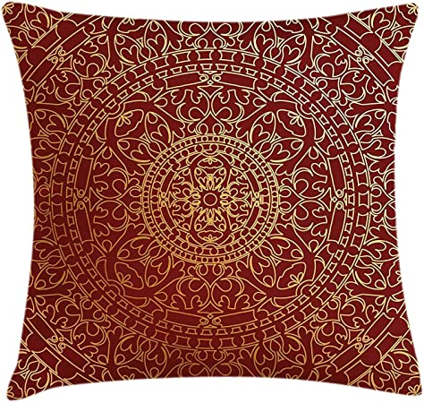 Cuscini Arabi.Borsa Pads Maroon Federa Per Cuscino Da Antico Arabo Artwork
